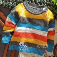 free knitting patterns for children sweaters | Knitting Patterns Boy Girl Children Sweater Pullover Knitted Sweaters ...