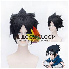 Naruto Sasuke Uchiha Cosplay Wig