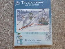 DMC THE SNOWMAN AND THE SNOWDOG FUN IN THE SNOW CROSS STITCH KIT  BL1101/64