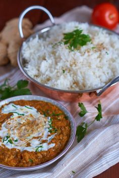 Berglinsen Curry | Mountain Lentil Curry | Rezept auf carointhekitchen.com…
