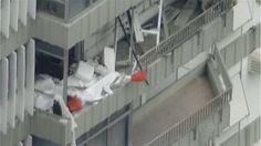 Falta de Sistema de Segurança contra vazamentos de gás e manutenção =>> G1 - Explosão causa destruição em apartamentos de São Conrado, no Rio - notícias em Rio de Janeiro
