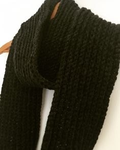 Chunky Rib Crochet Scarf £20.00
