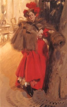 Effect of night, 1895Anders Zorn - by style - Art Nouveau (Modern)