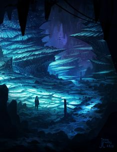Ice Cave Thang (Timelapse Video) by AtTheSpeedOfFetus.deviantart.com on @deviantART