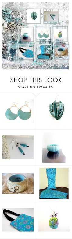 """""""Turquoise"""" by therusticpelican ❤ liked on Polyvore featuring modern, contemporary and vintage"""