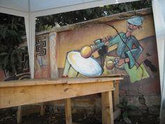 Murales en Valparaíso - EL DE HOY TB LO ENCONTRAMOS POR LA CALLE PEDRO LEON GALLO, PERO AL INTERIOR DE UNA CASA, TENGO DUDAS SIN AÚN ESTARÁ, YA QUE , VARIAS CASAS SUFRIERON UN INCENDIO A COMIENZOS DE AÑO, ESTA PUEDE SER UNA DE ELLAS.    http://www.flickr.com/photos/57361341@N03/5912657563/sizes/l/in/photostream/      SALUDOS Y BUEN DÍA - Fotolog
