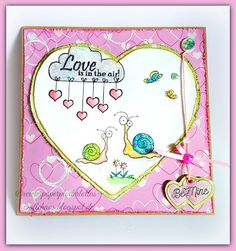 PaperPlotterLottas - CraftChaos: Kartentausch: Love is in the Air