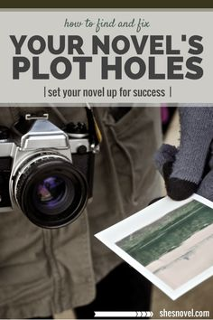 Don't let plot mistakes keep readers from loving your novel. Find and fix your novel's plot holes before you publish. Editing Writing, Fiction Writing, Writing Process, Writing Quotes, Writing Advice, Writing Resources, Writing Help, Writing A Book, Better Writing