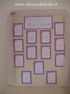 #Custumized #Handmade #Tableaux #de #mariage #lilac #hearts