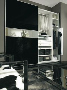 lacquered glass sliding wardrobe doors - Google Search