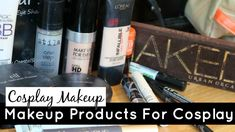 Makeup Products for Cosplay Makeup 101, Basic Makeup, Makeup Products, Cosplay Makeup, Cosplay Wigs, Online Shopping Sites, Love Can, Music Love, Print Store
