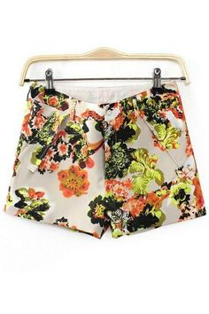 Chic Floral Shorts