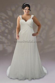 1000 images about plus size wedding dresses on pinterest for Wedding dresses for apple shaped brides