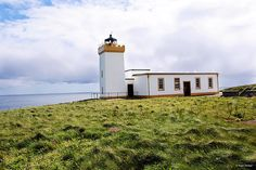 John O Groats Scotland Lighthouse - Pretty sure this is one of the last manned Lighthouses in the UK