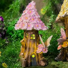 Found it at Wayfair Supply - Spring Petals Lighted Fairy House