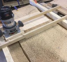 Learn a how to use common shop material to flatten a large wood slab using a handheld router. A-Frame Woodworking, LLC will show you a simple setup using som...