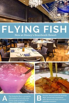 The New Flying Fish Makes Dining Waves at Disney's Boardwalk Resort #VisitOrlando #Disney