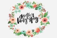 Custom Floral Wreath ~ Illustrations on Creative Market