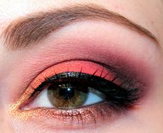 Autumn Leaves Inspired Makeup - Luhivy's favorite things