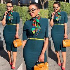 Best Work Outfits for Ladies - DarlingNaija Classy Work Outfits, Office Outfits Women, Classy Dress, Chic Outfits, Dress Outfits, Fashion Outfits, Ladies Outfits, Workwear Fashion, Fashion Blogs