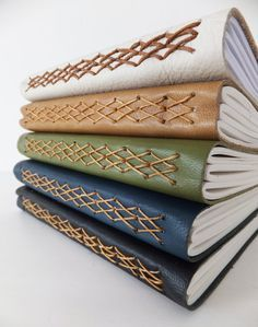 Leather Journal, Leather Notebook, Kisses Journal                                                                                                                                                      More