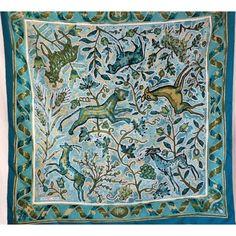 seta, scarf, sciarpa, Foulard Carré en Soie, seidentuch, hermès, mosaïques romaines, Maurice Tranchant 1970, pavement