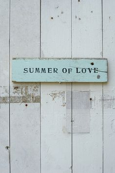 [summer of love] | by wood & wool stool