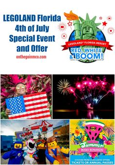 LEGOLAND Florida Hosts Red, White, and Boom Event