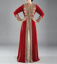 impressive  designs of moroccan kaftan abaya designs  (7)