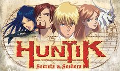 Huntik is an action adventure comedy/drama about a group of Seekers traveling around the globe in search of ancient Amulets that can evoke different types of titans.