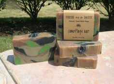 Your place to buy and sell all things handmade Army Crafts, Army's Birthday, Pine Essential Oil, Handmade Soaps, Diy Soaps, Mens Soap, Vegan Soap, Soap Bubbles, Military Man