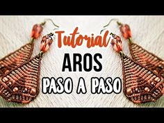 Paso A Paso: Aros triangulares ♥︎ macrame tutorial | como hacer | diy ● Earrings - YouTube