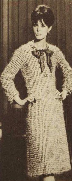Chanel Fashion, Vintage Chanel, 1970s, Victorian, Retro, Dresses, Home, Vestidos, Dress