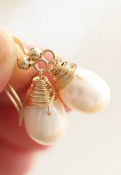 Love pearls - earrings