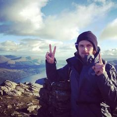 Sam in scotland
