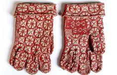 Digitalt Museum - Vantar med stickade och broderade mönster. Nordiska museets samlingar.