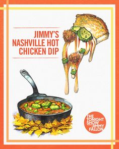Twitter Dove Recipes, Chicken Dips, Tonight Show, Jimmy Fallon, Spice Things Up, Nashville, Appetizers, Foods, Twitter