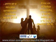 MI Casa Y Yo Serviremos a Jehova Biblia | yo y mi casa serviremos a Jehová