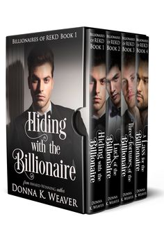 "Four clean romances with a touch of suspense!  Four regular guys met at Harvard and decided to create a video game together. When it went viral, the former ""Beta Boys"" became the ""Billionaire Boys."" Three years later . . ."
