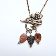 Kobber og Jasper blad smykke Henna, Pendant Necklace, Jewelry, Jewlery, Jewerly, Schmuck, Hennas, Jewels, Jewelery