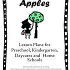 48 pages of new and creative ideas for the theme of apples for Preschool, Kindergarten, Daycares and Home schools.  Curriculum areas covered:   Cir...