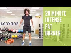 20 minute intense fat burner workout - Diet and weight loss for you