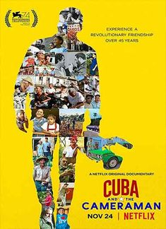 Sinopsis film Cuba and the Cameraman:  Life in Cuba for three struggling families over the course of 45 years, from the cautious optimism of the early 1970s to the harrowing 1990s after the fall of the Soviet Union and the 2016 death of Fidel Castro.
