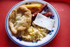 Panamenian breakfast