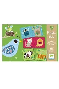 Puzzle duo Habitat Djeco: Amazon.it: Giochi e giocattoli