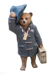 Chief Scout Bear BEAR GRYLLS, ADOPTED BY HEATHROW EXPRESS