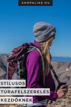 Ősszel nincs is jobb hétvégi program, mint túrázás közben gyönyörködni a változó természet szépségében. Szívesen belekezdenél te is a túrázásba, de nem tudod, milyen felszerelésre van szükséged? Nem kell azonnal a legdrágább túraruházatot megvenned, elég lesz egy profi túracipőbe és néhány jó minőségű, stílusos ruhadarabba beruháznod, amit a természetben és akár a mindennapokban is viselhetsz majd. Cikkünkben bemutatjuk a legjobb alapdarabokat. #stílusvilág #túrafelszerelés #túrázás Winter Hats, Fashion, Moda, Fashion Styles, Fashion Illustrations