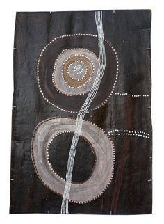 Noŋgirrŋa Marawili - Gurtha - 99 x 69 cm - (sold) — Art Aborigène d'Australie - Aboriginal Signature Estrangin gallery Mayan Symbols, Viking Symbols, Egyptian Symbols, Ancient Symbols, Viking Runes, Aboriginal Painting, Aboriginal Artists, American Indian Tattoos, Aboriginal Culture