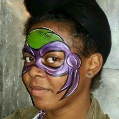 face painting tmnt teenage mutant ninja turtles face paint pinterest. Black Bedroom Furniture Sets. Home Design Ideas