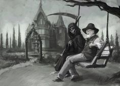 Terry in Death's Garden - By Abend86 on DeviantArt